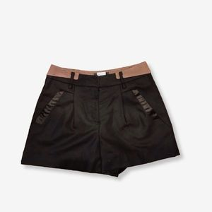 Women's | M. FFIN | Black flared shorts
